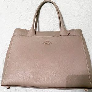 Authentic Coach gray bag. Absolutely beautiful!